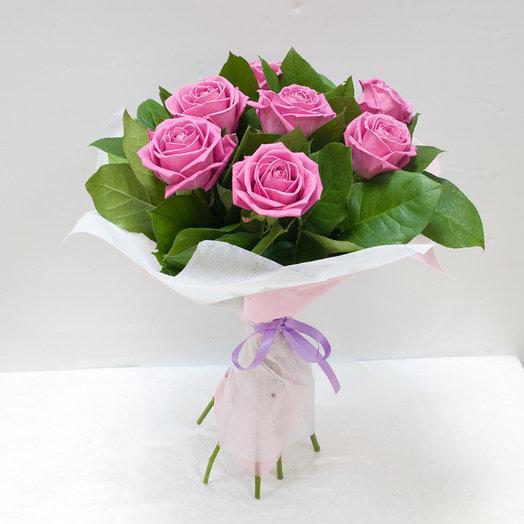 Букет из роз Аква