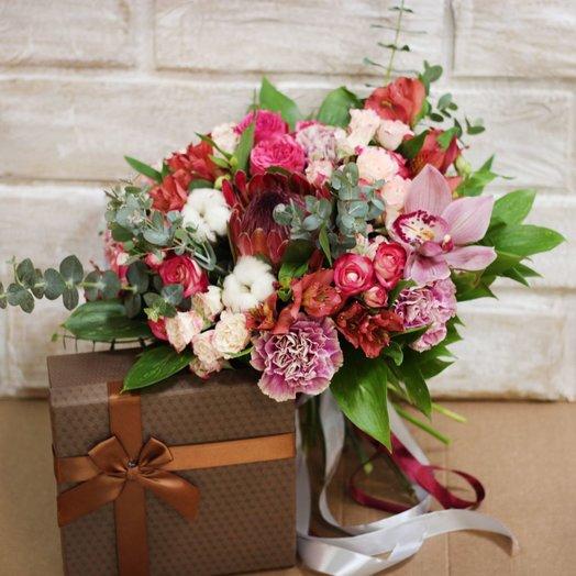 Пино Нуар: букеты цветов на заказ Flowwow