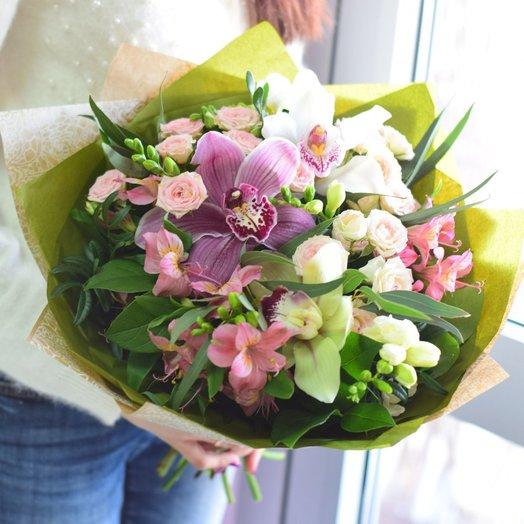 Экзотический рай: букеты цветов на заказ Flowwow