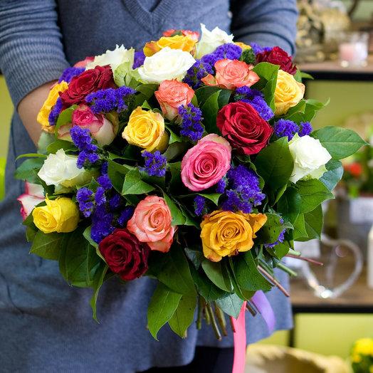 Букет цветов Праздник каждый день: букеты цветов на заказ Flowwow