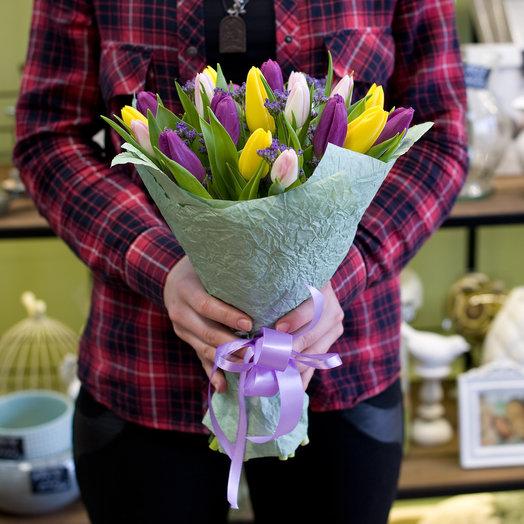 """Букет из тюльпанов """"Sallutto"""": букеты цветов на заказ Flowwow"""
