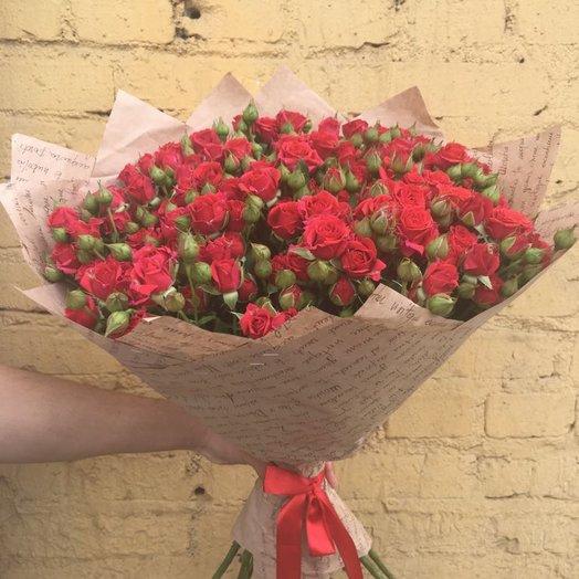 Аромат кустовых роза: букеты цветов на заказ Flowwow