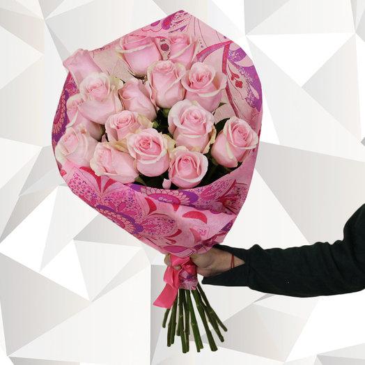 Розовая свеча: букеты цветов на заказ Flowwow
