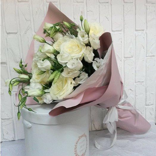 Букет Крем брюле: букеты цветов на заказ Flowwow