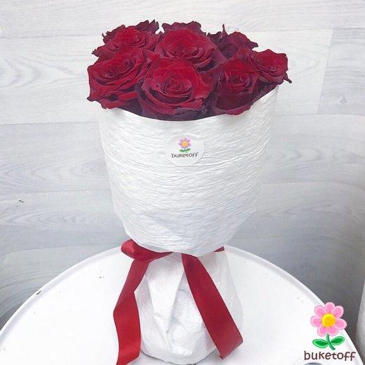 9 роз Эквадор: букеты цветов на заказ Flowwow