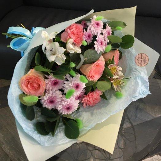 Букет1500: букеты цветов на заказ Flowwow