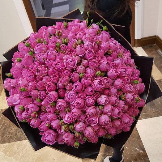 Пионовидные Розы : букеты цветов на заказ Flowwow