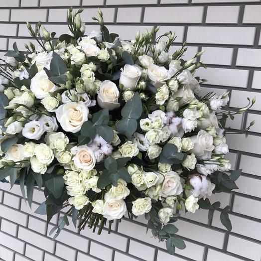 White cream: букеты цветов на заказ Flowwow
