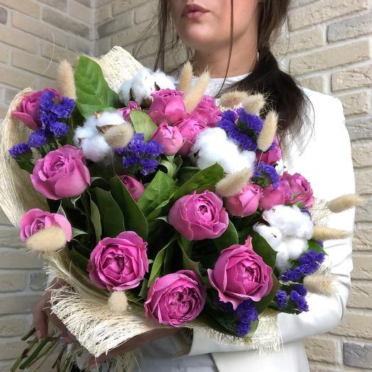 Стильная классика: букеты цветов на заказ Flowwow
