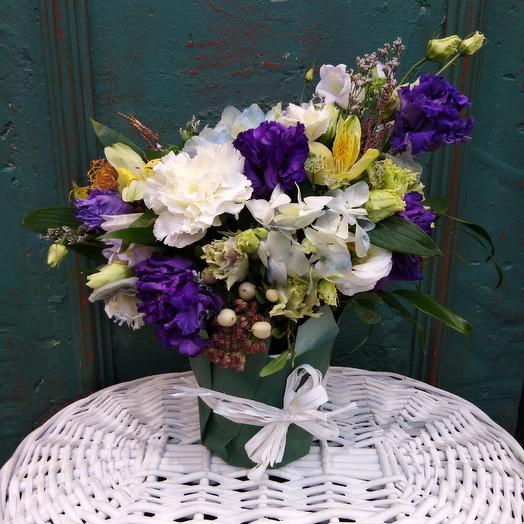 Пестрое утро: букеты цветов на заказ Flowwow