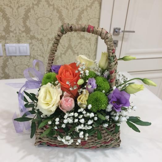 Козина с цветами: букеты цветов на заказ Flowwow