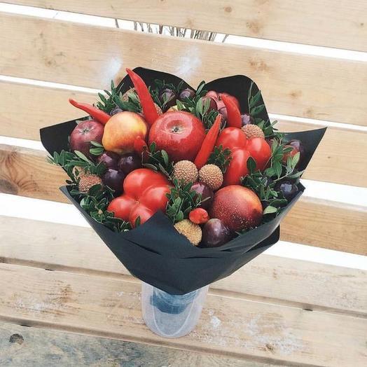 Букет «Остринка»: букеты цветов на заказ Flowwow