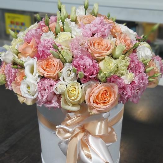 Коробка нежности: букеты цветов на заказ Flowwow