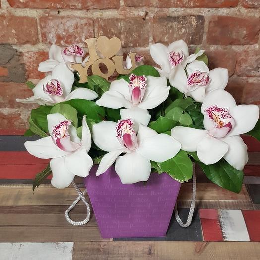 I love you: букеты цветов на заказ Flowwow