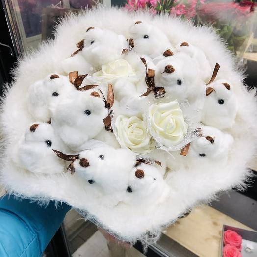 Игрушечное облачко: букеты цветов на заказ Flowwow