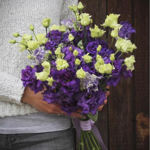 Фиолетовые сны: букеты цветов на заказ Flowwow