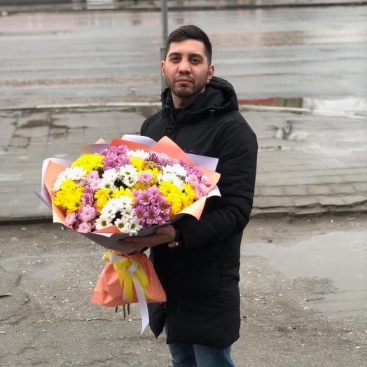 Радужные: букеты цветов на заказ Flowwow
