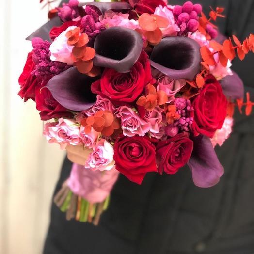 Эффект: букеты цветов на заказ Flowwow
