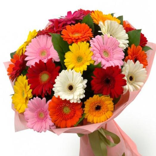Разноцветное лето: букеты цветов на заказ Flowwow