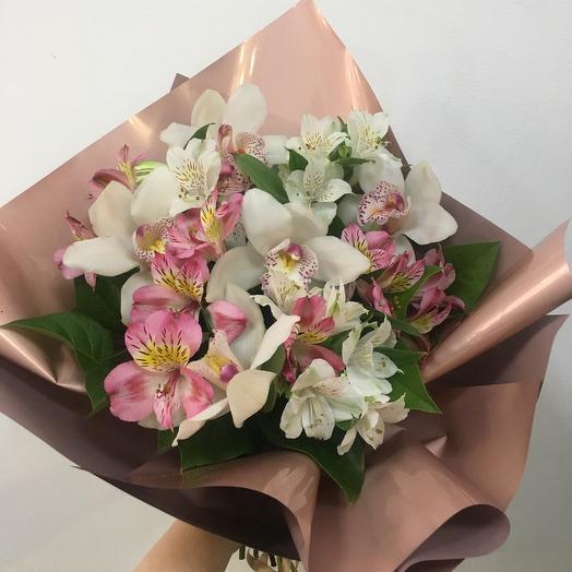 Букет «Завтрак в Париже»: букеты цветов на заказ Flowwow