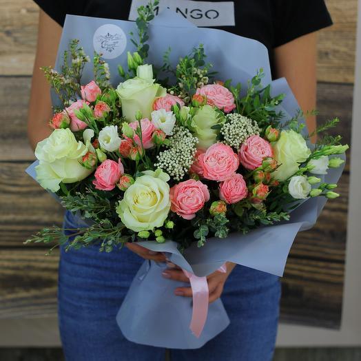 Жемчужина красоты: букеты цветов на заказ Flowwow