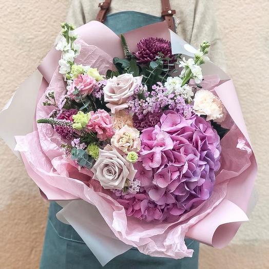 Лиловый сад: букеты цветов на заказ Flowwow