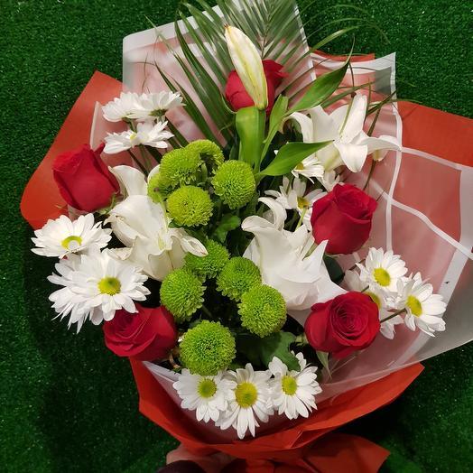 """Букет """"Пламя"""": букеты цветов на заказ Flowwow"""