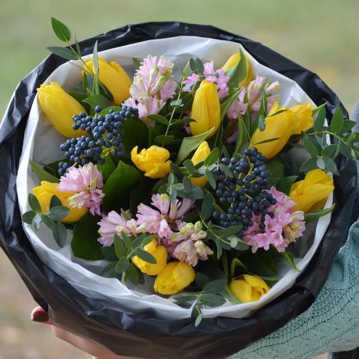 """Букет цветов """"Очарование"""": букеты цветов на заказ Flowwow"""