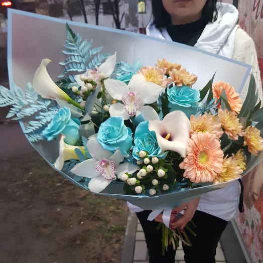 """Bouquet """"Duet"""": flowers to order Flowwow"""