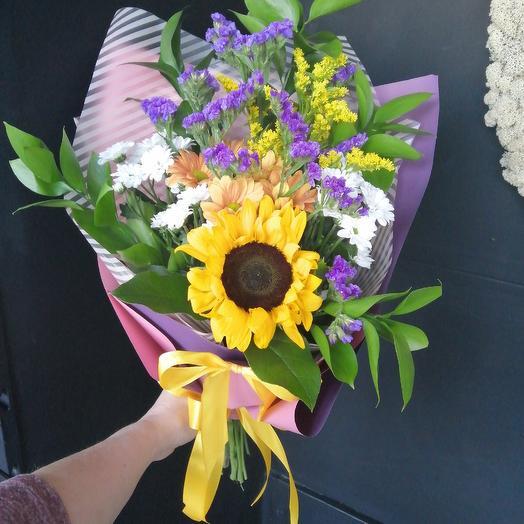 """Букет комплимент """"Солнечное настроение"""": букеты цветов на заказ Flowwow"""