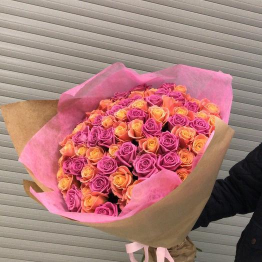 Свежий микс: букеты цветов на заказ Flowwow