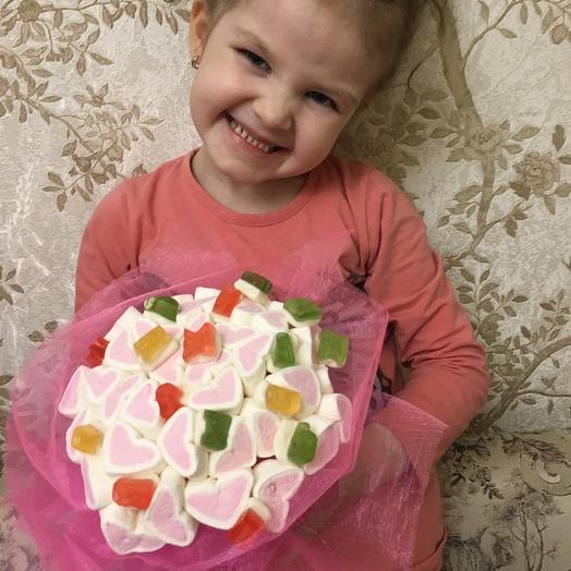 Сладкий букетик: букеты цветов на заказ Flowwow