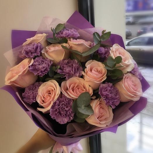 Доминика: букеты цветов на заказ Flowwow