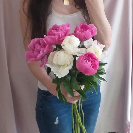 7 шикарных пионов: букеты цветов на заказ Flowwow