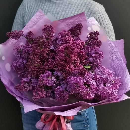 Роскошный букет сирени: букеты цветов на заказ Flowwow