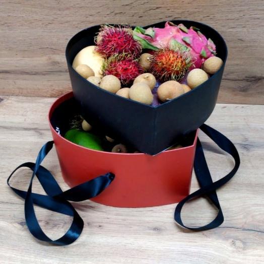 Ассорти Двухэтажное Сердце (2.5 кг): букеты цветов на заказ Flowwow