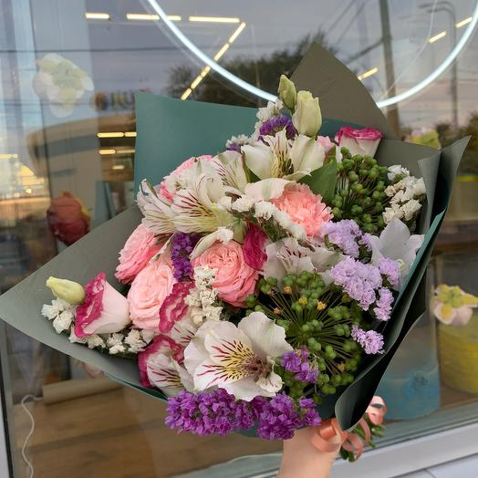 Букет Вау: букеты цветов на заказ Flowwow