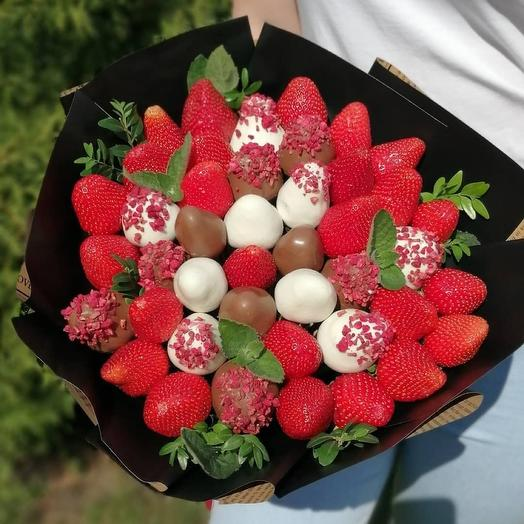 """A bouquet of Chocolate-covered Strawberries """"Fresh"""""""