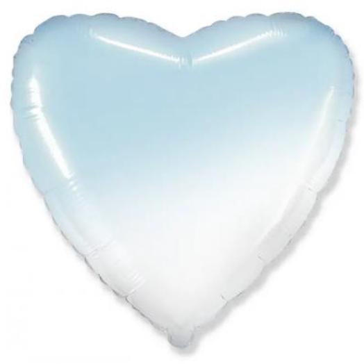 Шар Сердце Голубой, Градиент