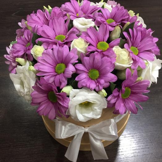 Цветы в коробке 007655