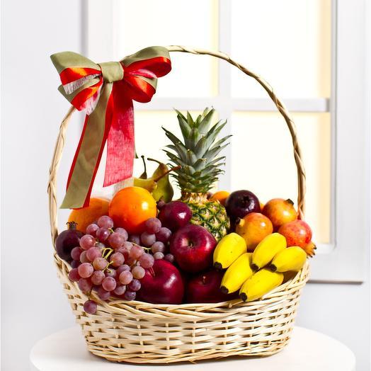 """Корзина фруктов """"Доброе пожелание"""""""
