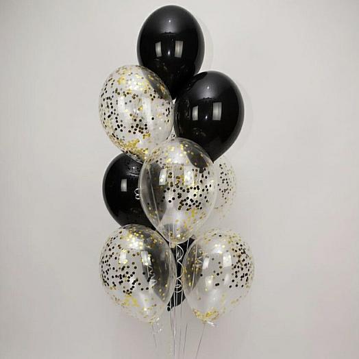 Чёрное золото, гелиевые шары