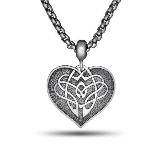 Подвеска Кельтское сердце