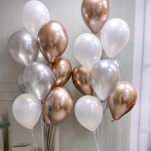 Набор шаров ко дню рождения