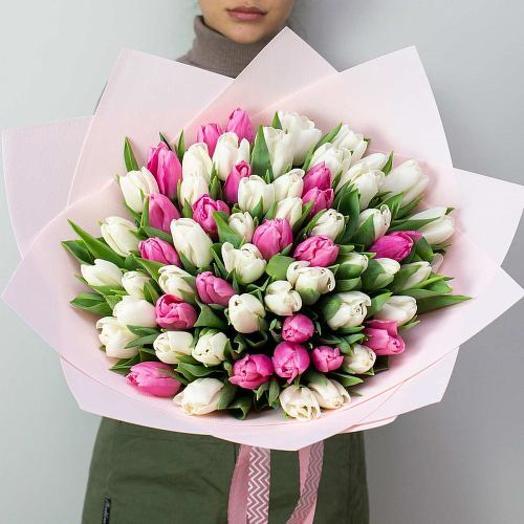 75 тюльпанов