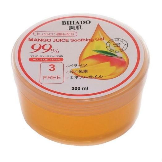 Крем для лица и тела, Увлажняющий гель для лица и тела, с соком манго