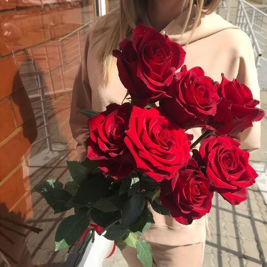 Розы под ленту