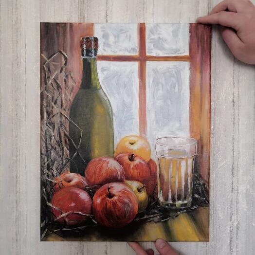 """Картина """"Яблочный сидр"""""""