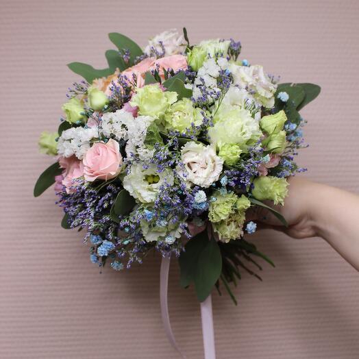 """Bride's bouquet """"Ariel"""""""