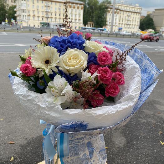 Букет цветов « Облако чувств»